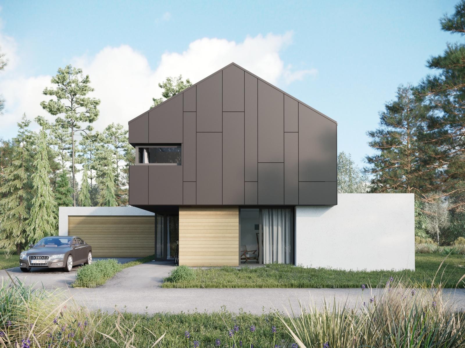 Visualization of a Modern Home
