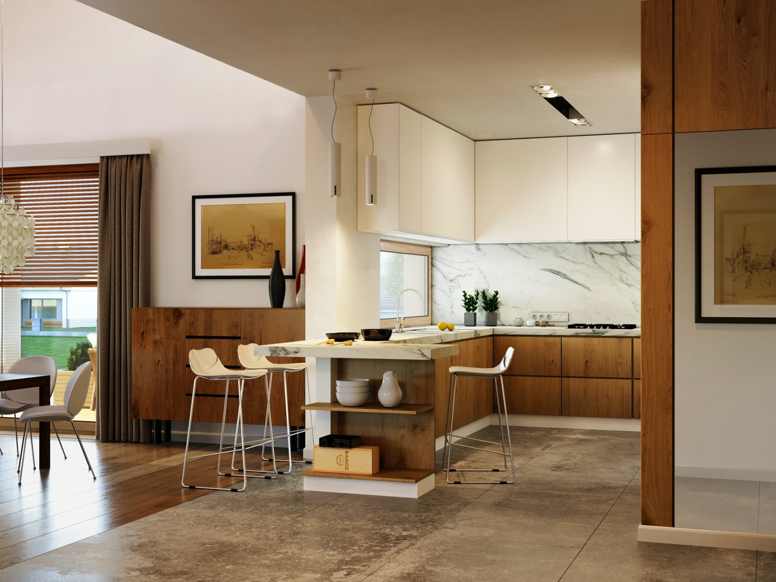 Luxury Kitchen Visualization