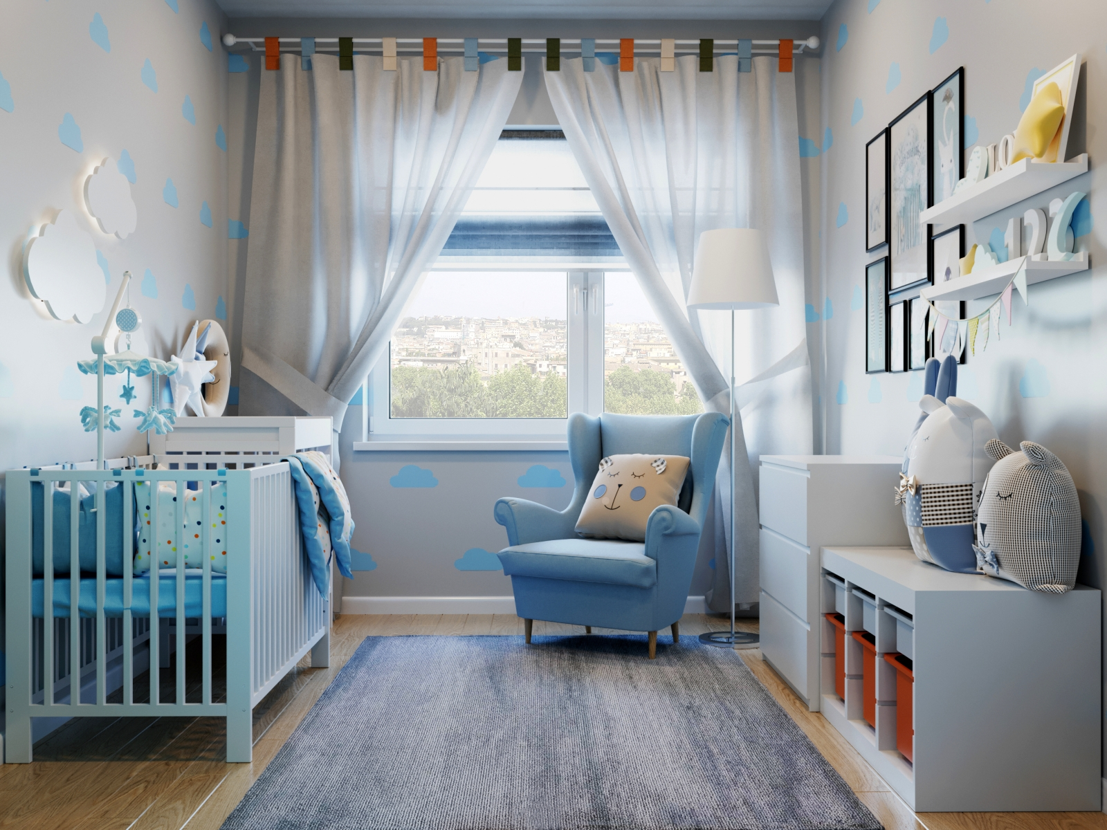 Visualization of a Children's Room