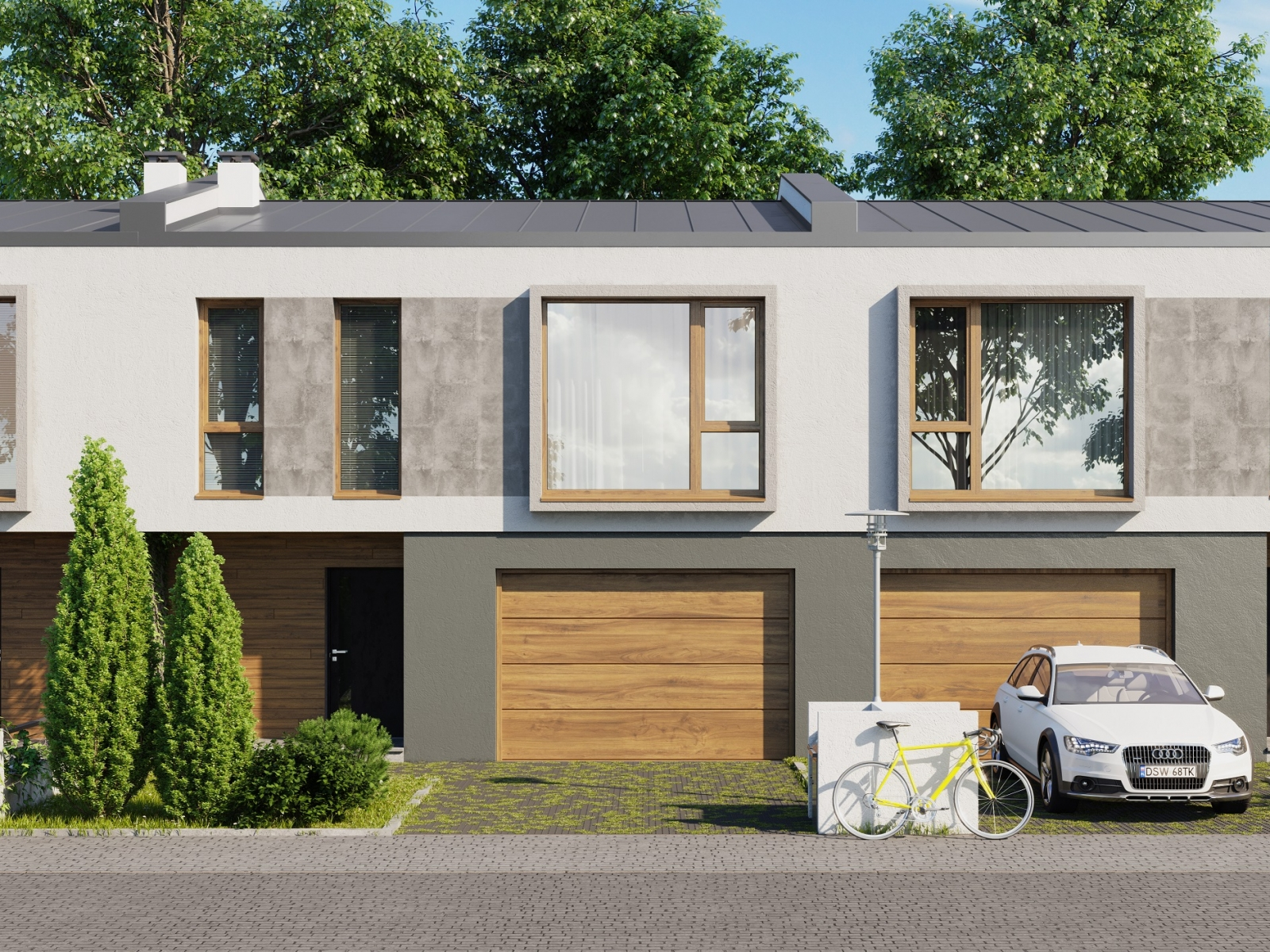 Sunny Townhouse Visualization