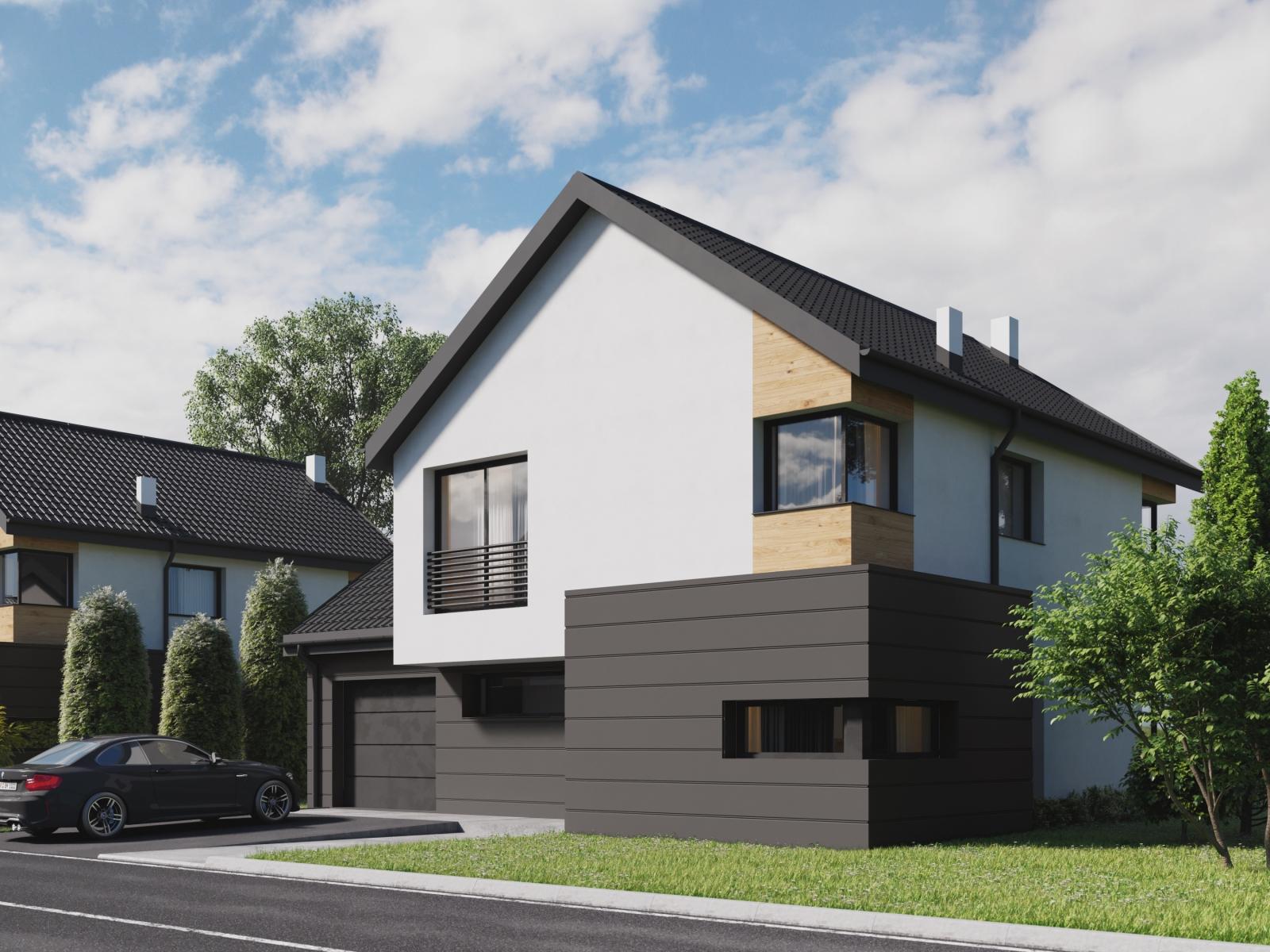 Visualization of Modern TownHouse