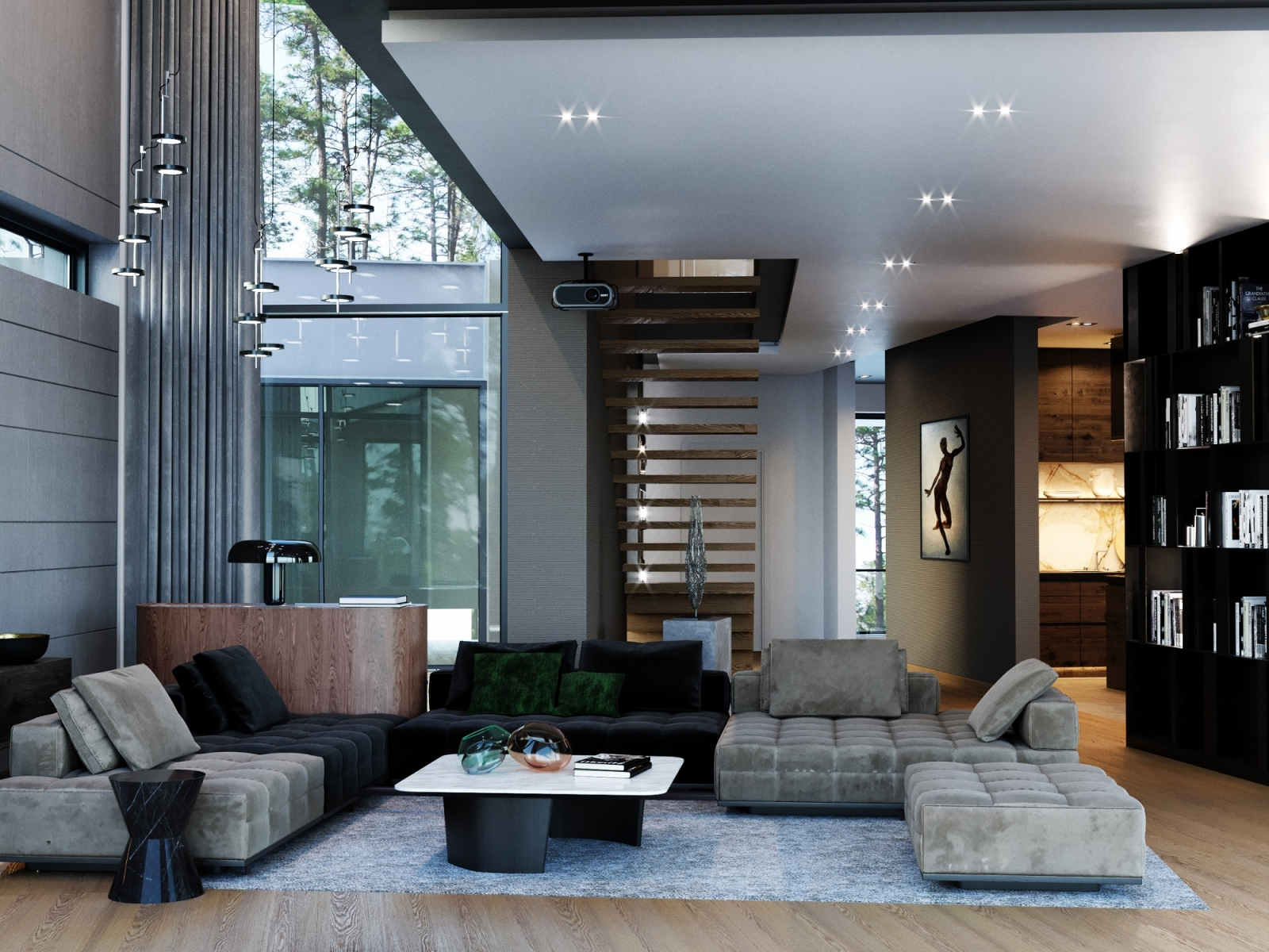 Luxury Hall Visualization