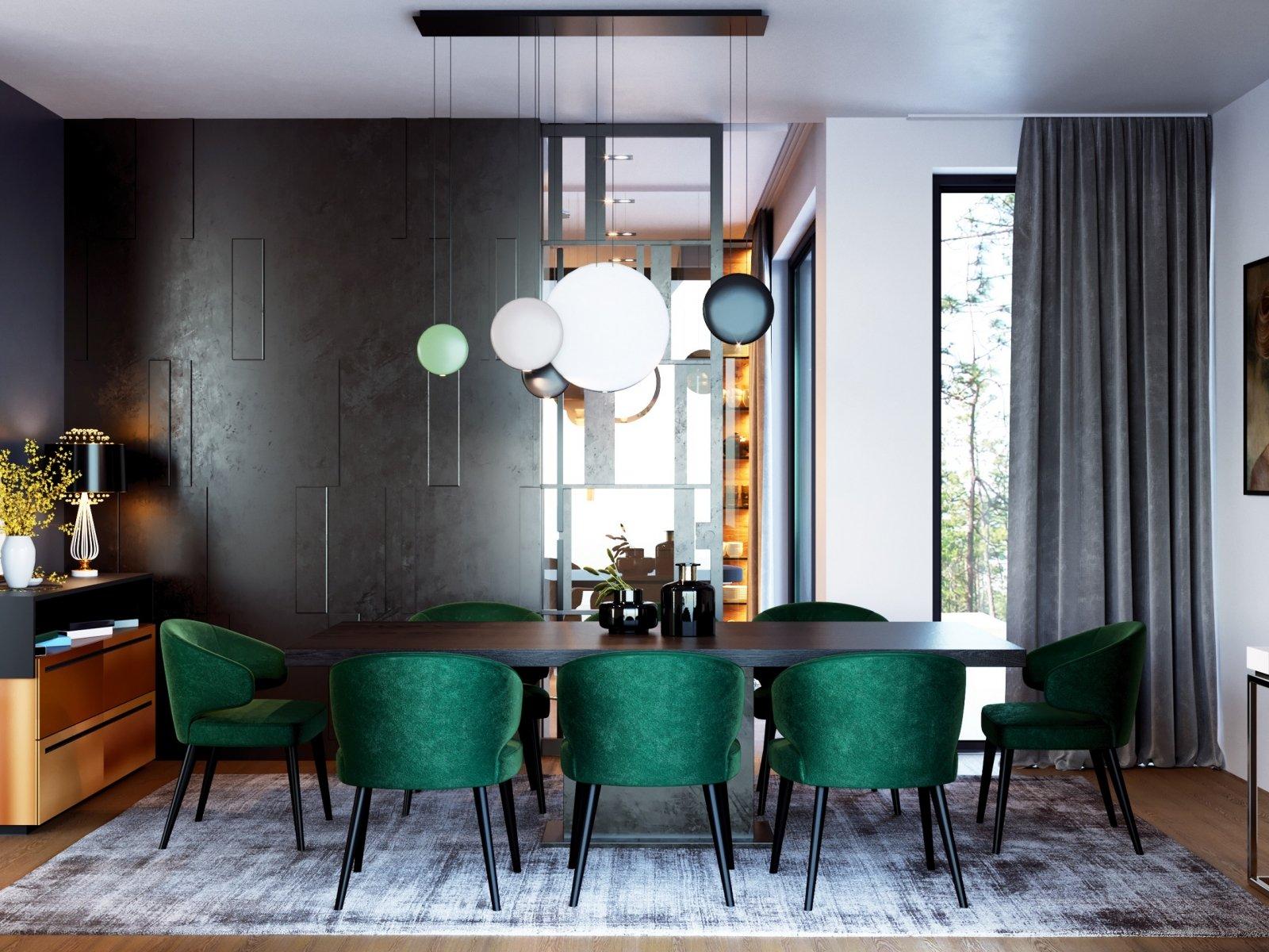 Luxury Dining Room Visualisation