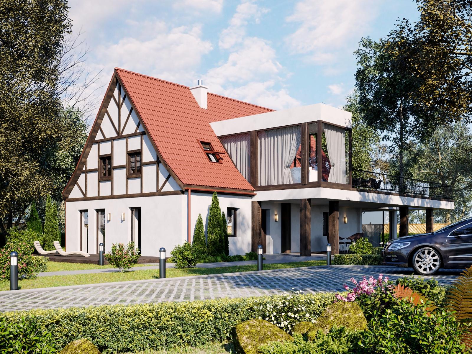 Austrian Willage House Visualization