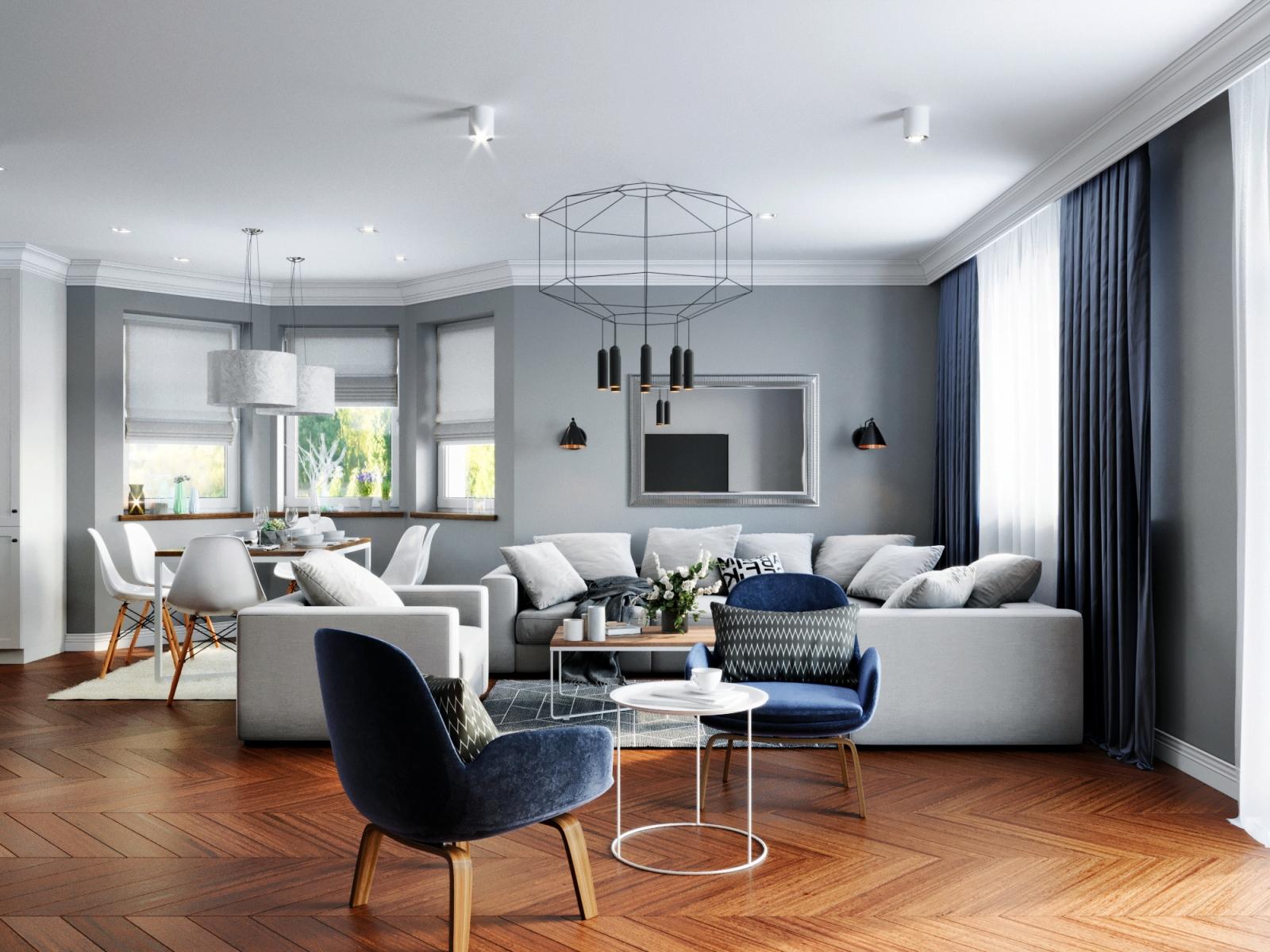 Modern and Stylish Apartment Visualization