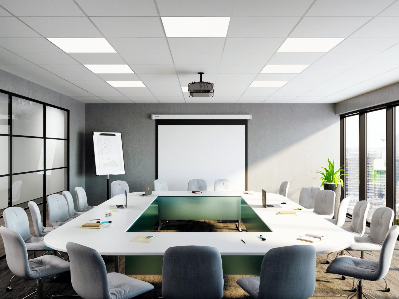 Conference Room Visualization